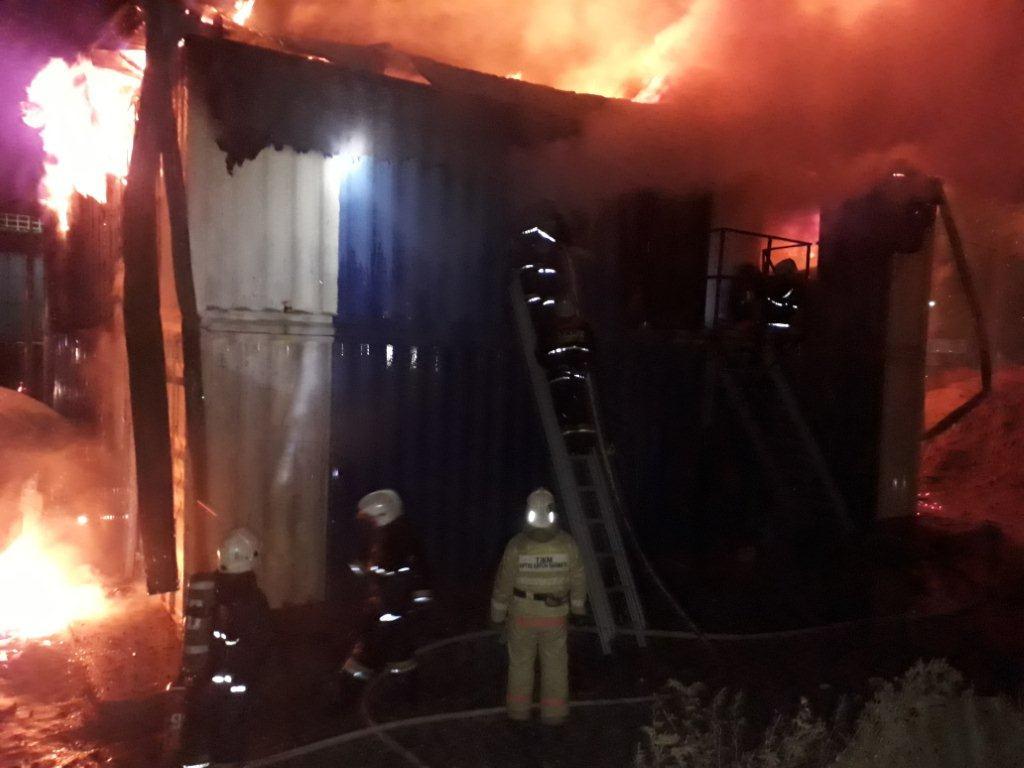 При пожаре в общежитии в Астане погиб гражданин Узбекистана