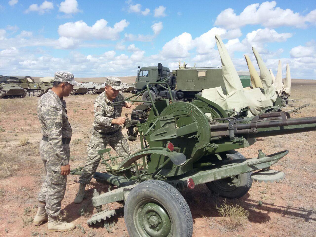 В Сухопутных войсках начался полевой выход с подразделениями противовоздушной обороны