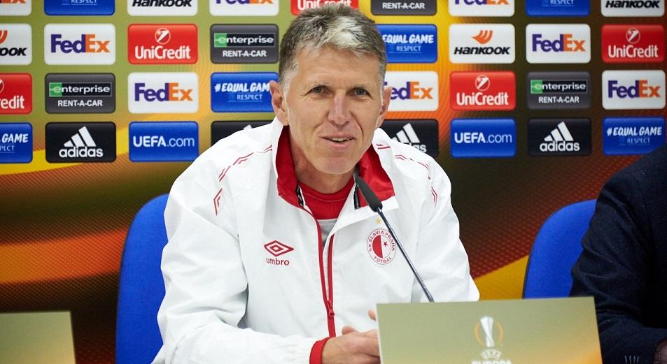 Тренер «Славии»: «Будет ошибкой играть с «Астаной» на ничью»