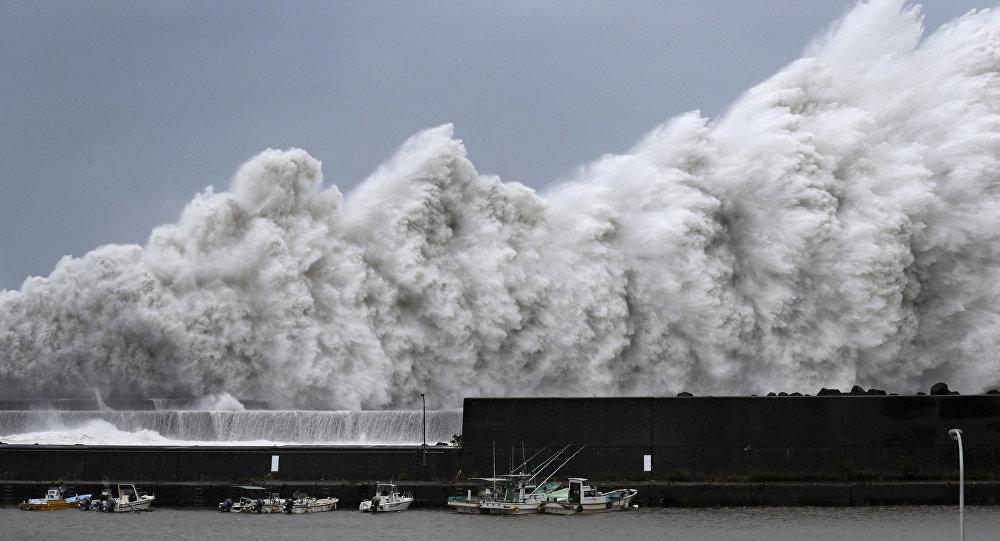 В Японии из-за тайфуна отменены более 400 рейсов