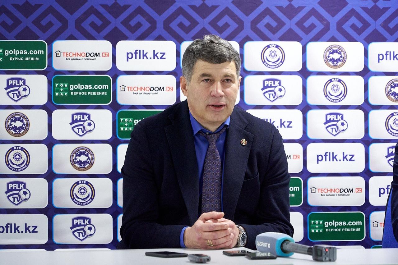 Виктор Кумыков официально остался на посту главного тренера ФК «Атырау»