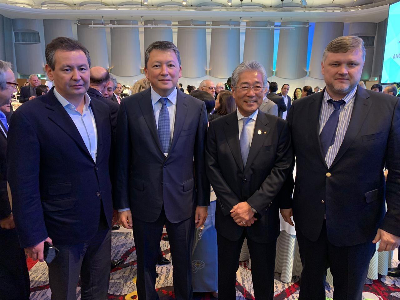Тимур Құлыбаев ҰОКҚ атқарушы комитетінің мүшесі болып сайланды