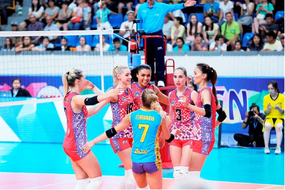 «Алтай» поборется за пятое место на клубном ЧМ по волейболу среди женщин
