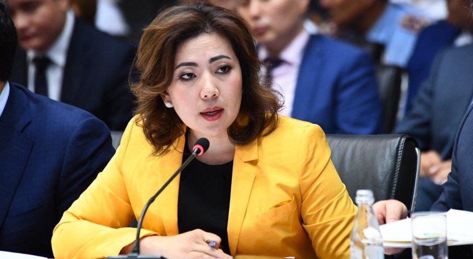 Мадина Абылкасымова сделала выводы после общественной критики