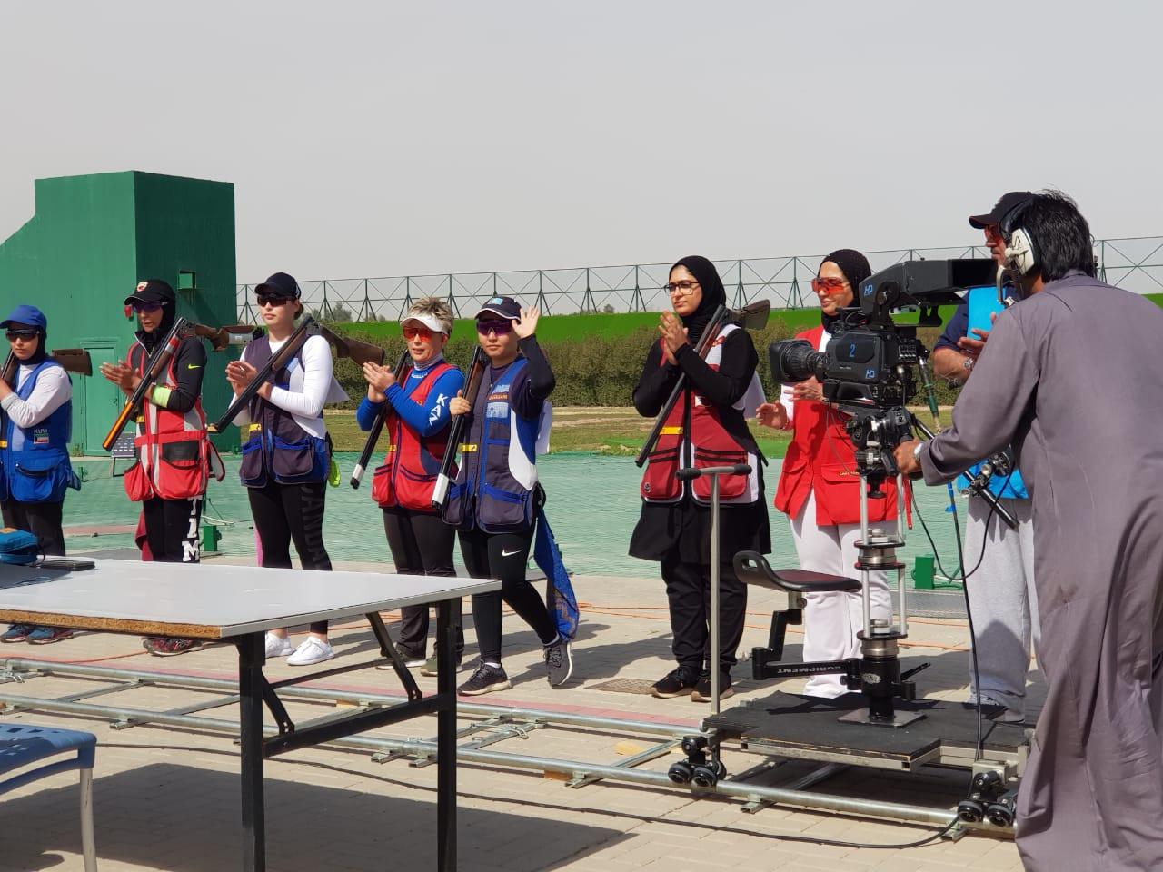 Казахстанка завоевала бронзовую медаль по стендовой стрельбе в Кувейте