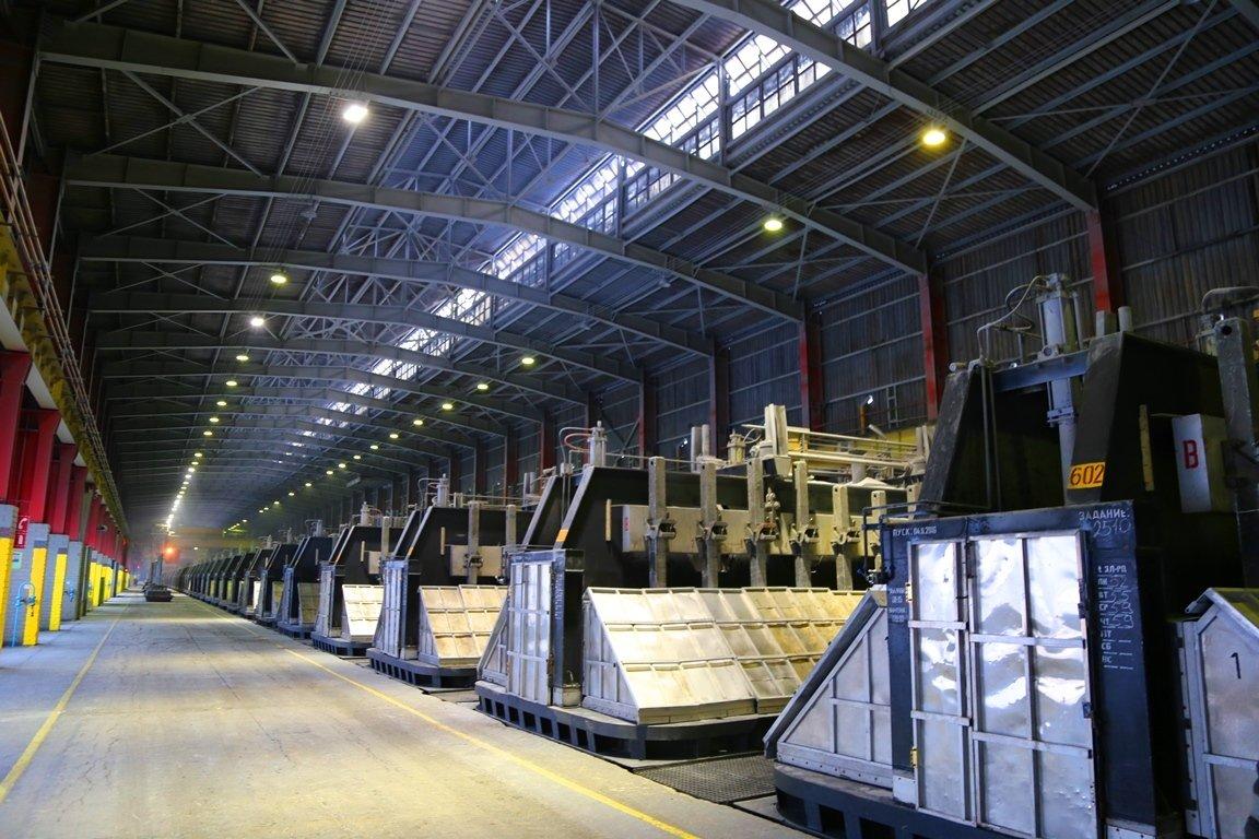 Казахстанский электролизный завод намерен увеличить производство алюминия на 1,3%