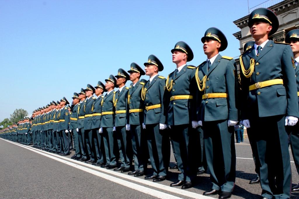 МВД Казахстана направило 20 курсантов на обучение в Россию