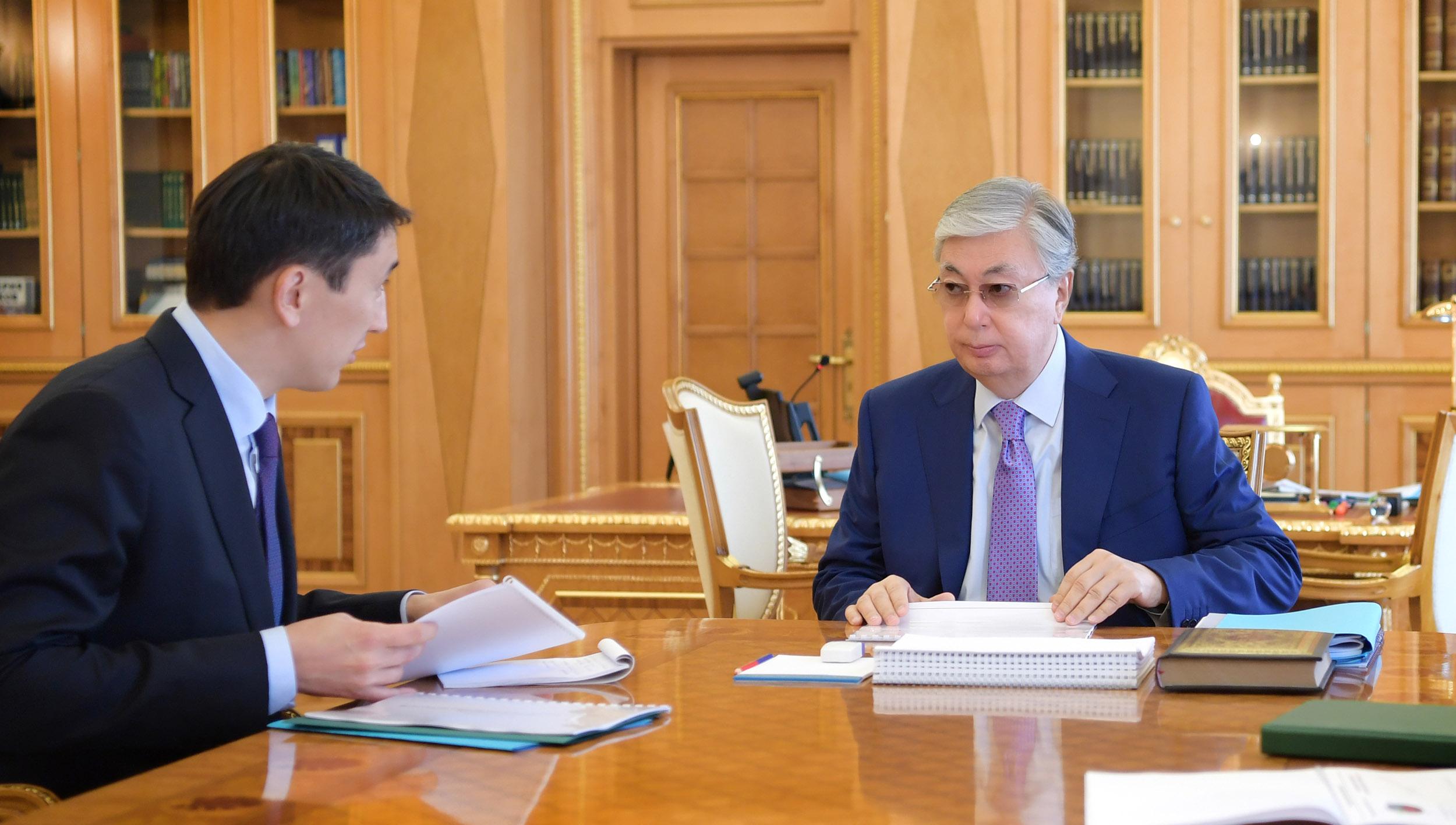 Мағзұм Мырзағалиев Президентке Экологиялық кодекстің әзірлену барысы туралы айтты