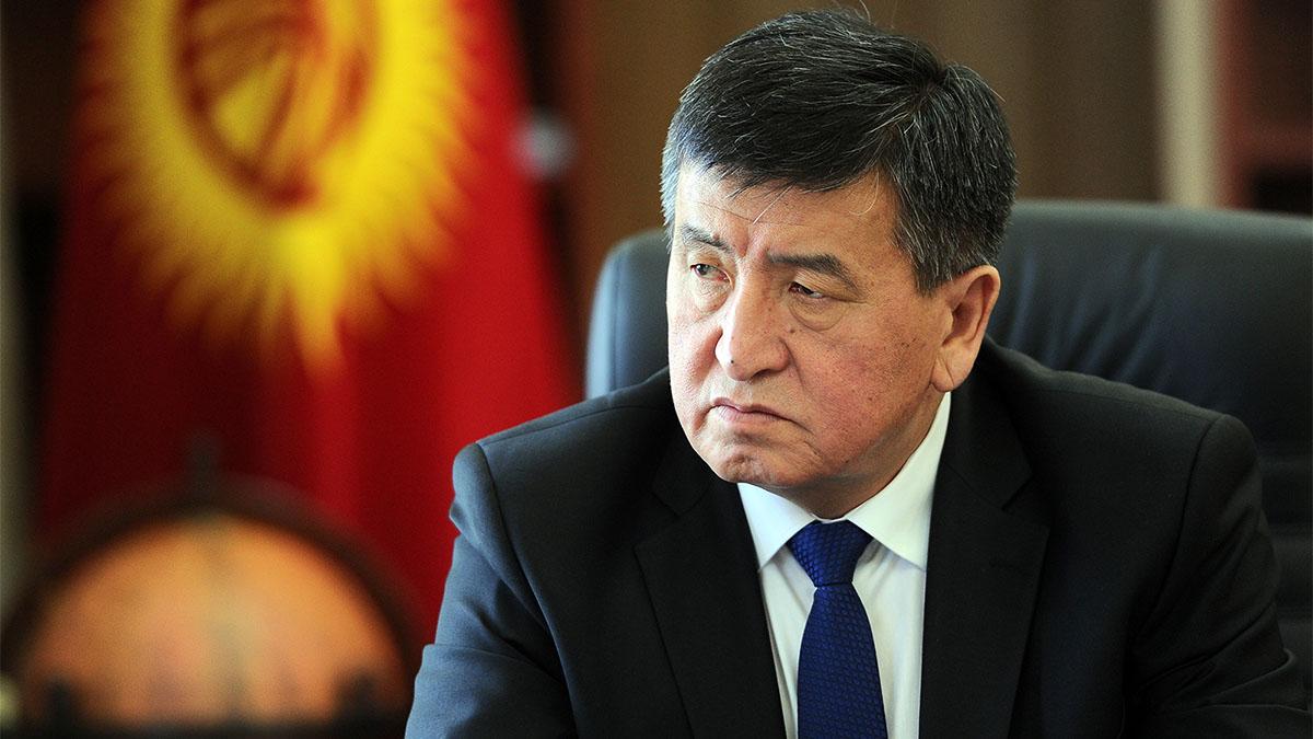 Президент Кыргызстана заявил о грубом нарушении Атамбаевым законов и конституции страны