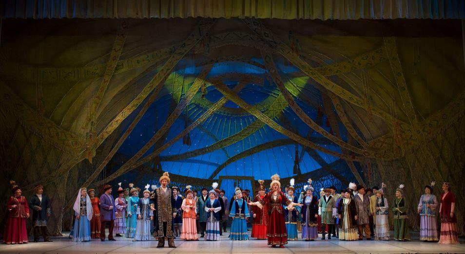 Театр оперы и балета им. Абая празднует 85-летний юбилей