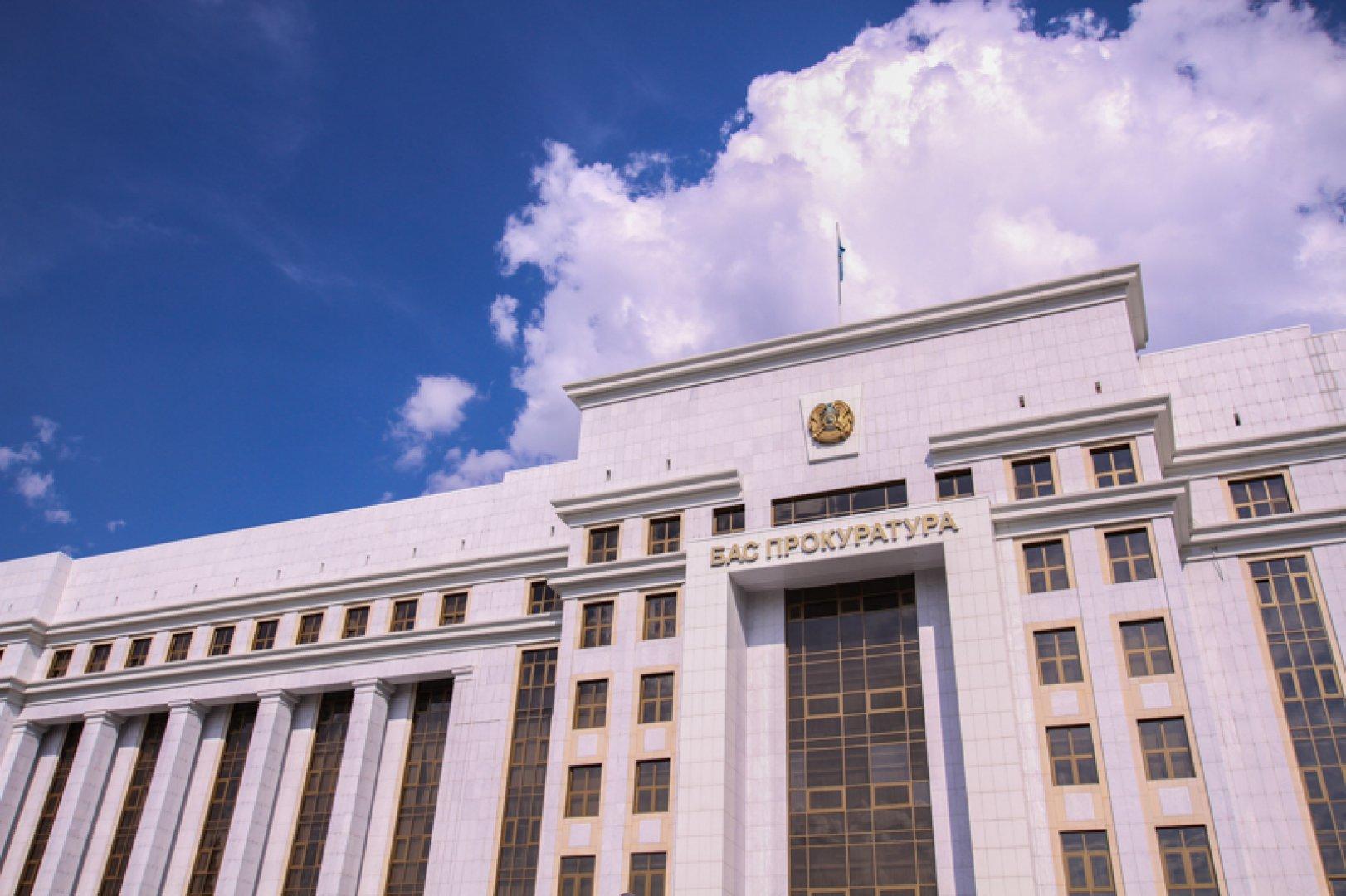 Генпрокуратура РК выявила 130 случаев незаконного ареста