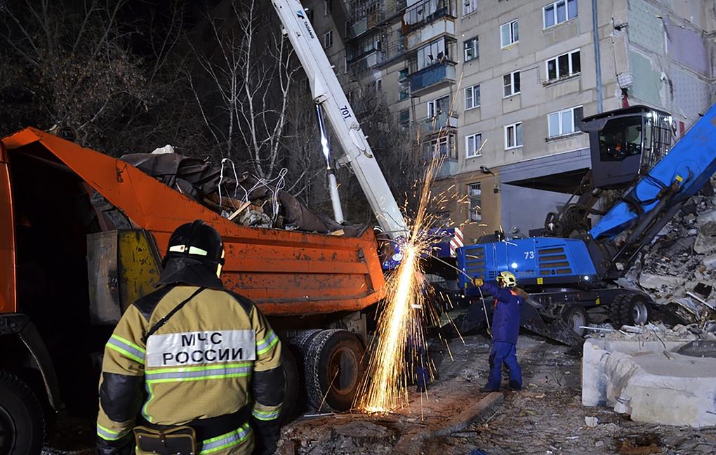 При разборе завалов в Магнитогорске обнаружено тело восьмого погибшего