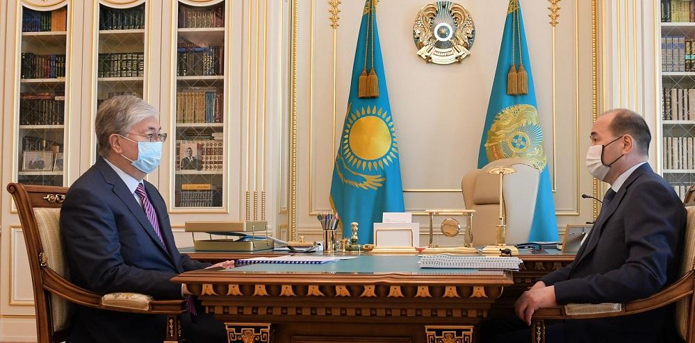 Токаев поручил генпрокурору Казахстана продолжить контроль в сфере реализации антикризисных мер