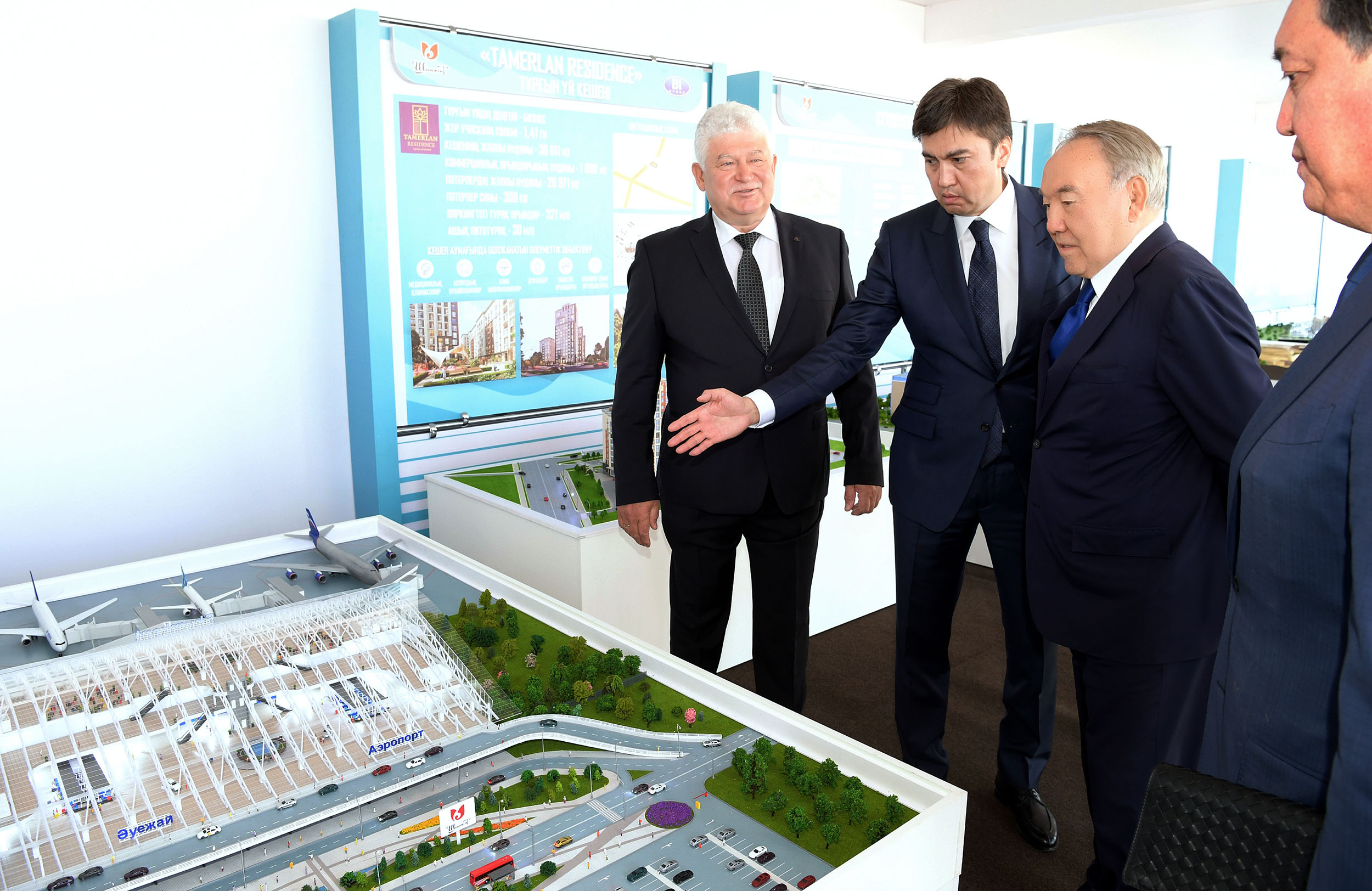 Нұрсұлтан Назарбаевқа Шымкентті одан әрі дамыту жоспары таныстырылды
