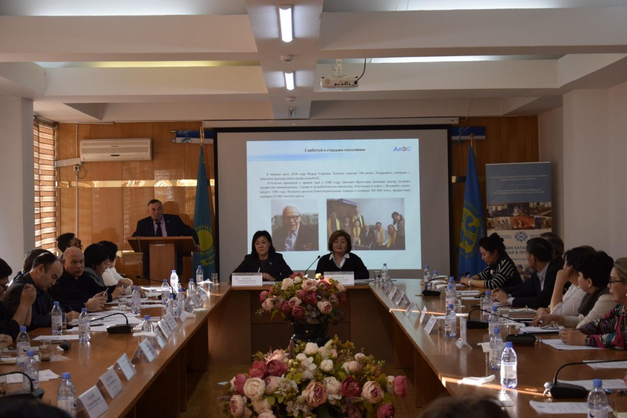 Профсоюзные объединения Алматы и Павлодарской области подвели итоги прошлого года