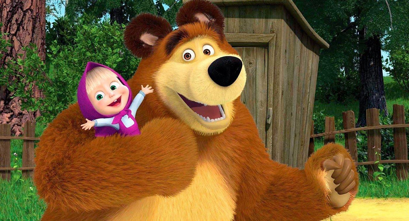 """Создателей сериала """"Маша и Медведь"""" пригласили в Казахстан помочь в создании отечественного мультипликационного персонажа"""