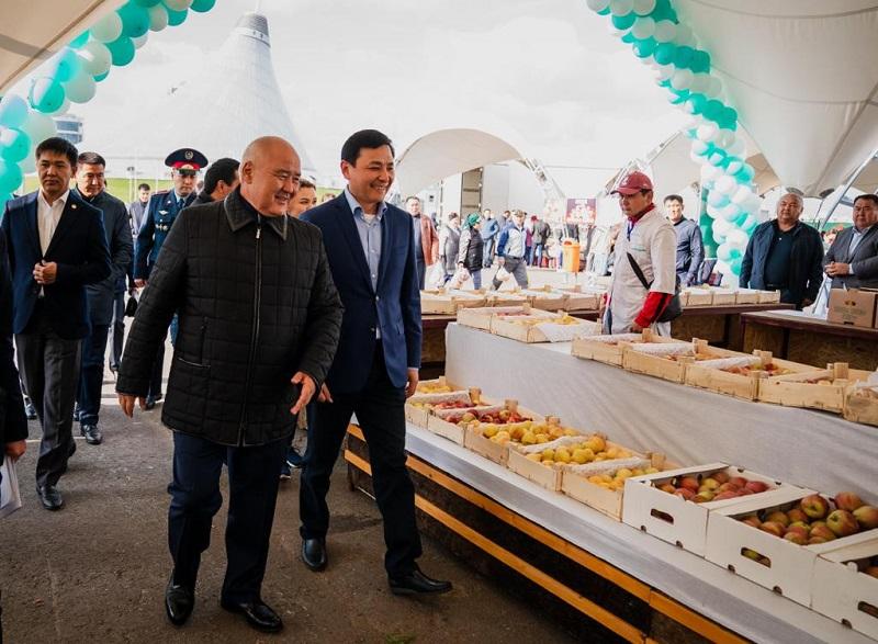 Сельскохозяйственная ярмарка проходит в Нур-Султане
