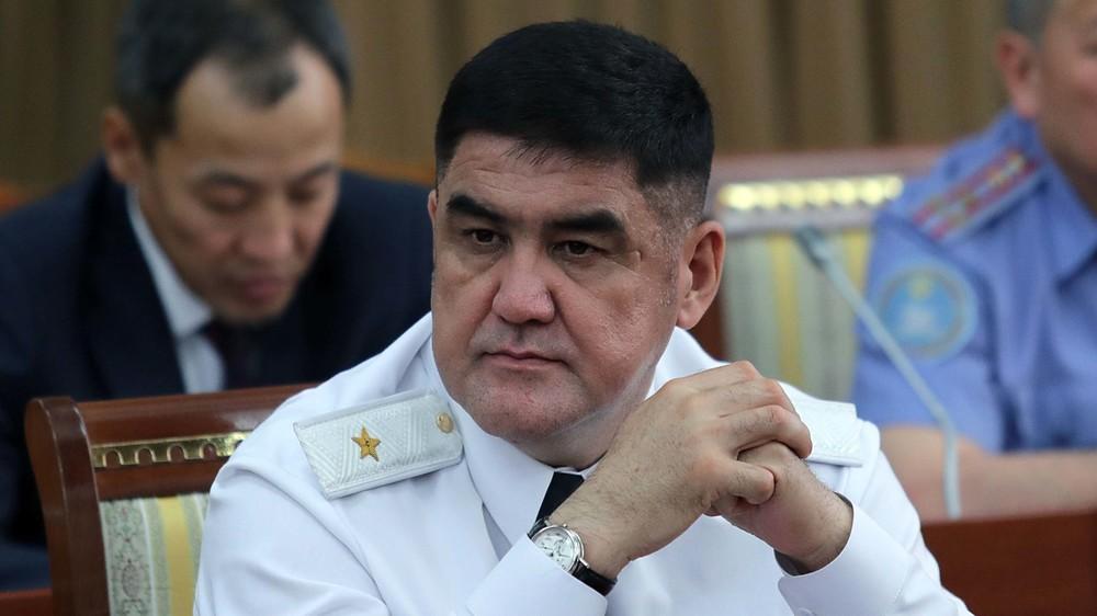 Замглавы МВД Кыргызстана снят с должности в связи с утратой доверия
