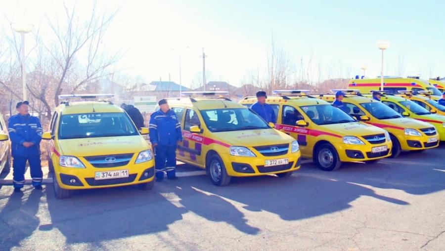 59 автомобилей получили спецслужбы Кызылординской области