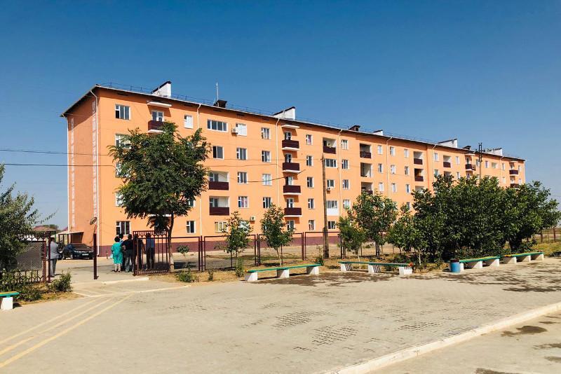 В Арыси основные работы завершены в 6,7 тысячи домов