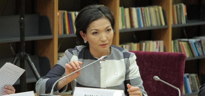 Лаззат Рамазанова: «Модель женской кооперации необходимо использовать в сельском самоуправлении»