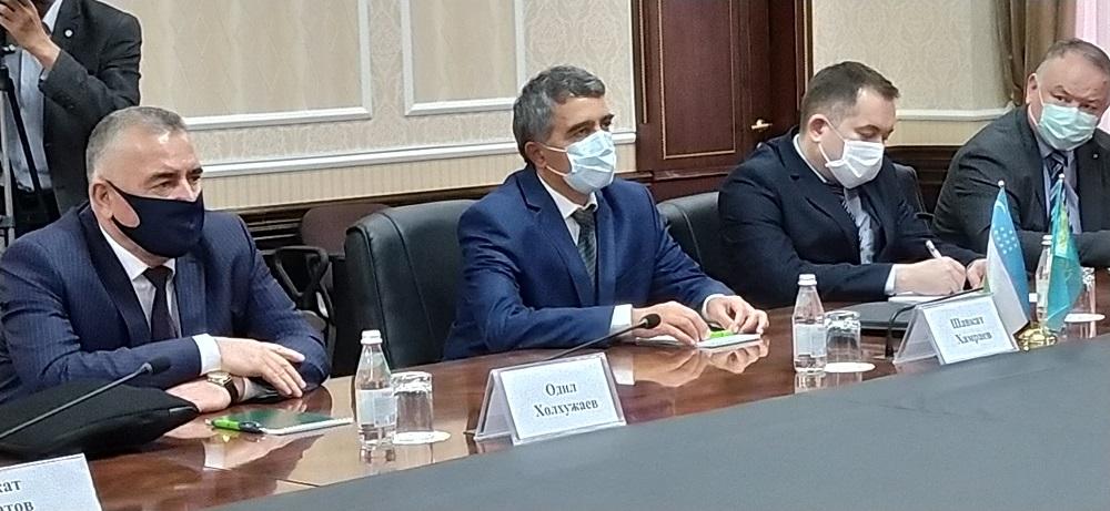 Казахстан примет участие в техаудите Сардобинского водохранилища в Узбекистане