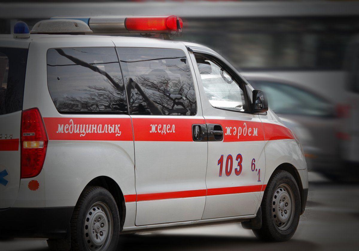 Четверо детей пострадали при пожаре в Астане