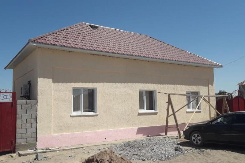 В Арыси восстановили 1620 домов