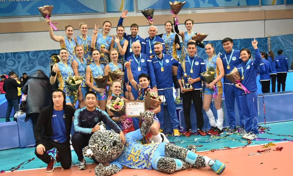 Волейболдан Қазақстан кубогі  «Алтай» клубына бұйырды