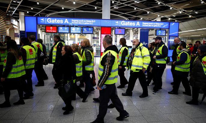 Германиядағы ереуілдер Қазақстандағы әуе рейстерін тежеді
