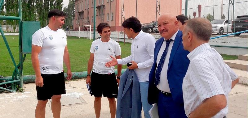Представители НОК посетили с рабочим визитом Туркестанскую и Жамбылскую области