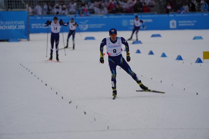 Казахстанский лыжник Асет Дуйсенов завоевал серебряную медаль на Универсиаде-2019