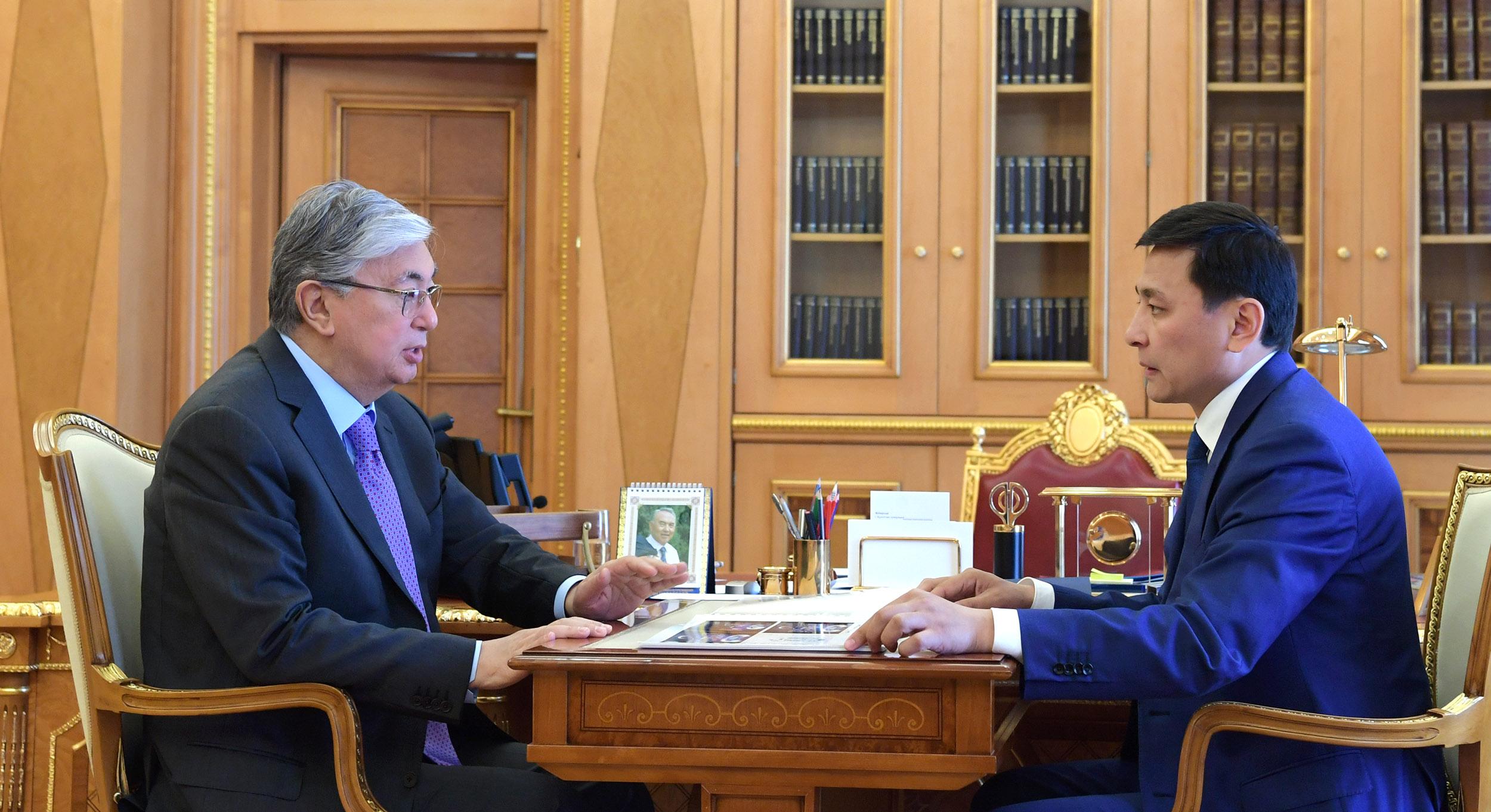 АНК проводит важную работу по консолидации нашего общества – Касым-Жомарт Токаев