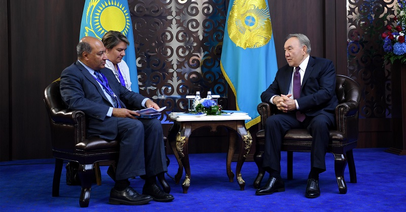Назарбаев обсудил с главой ЕБРР перспективы реализации совместных проектов