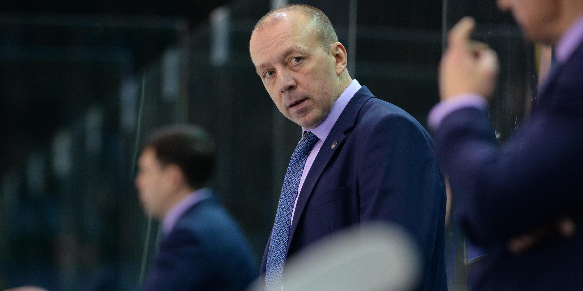 Главный тренер «Барыса» Андрей Скабелка отмечает день рождения