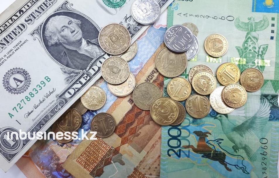 Средневзвешенный курс тенге на KASE во вторник понизился на 0,1%
