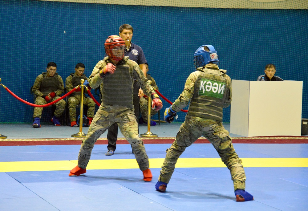 В Астане проходит IV Республиканский турнир по рукопашному бою