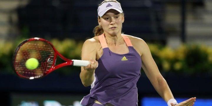 Елена Рыбакина Дубайдағы турнирдің финалында бақ сынайды