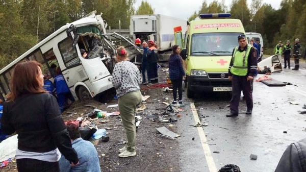 Ресейде жол апатынан 9 адам мерт болды