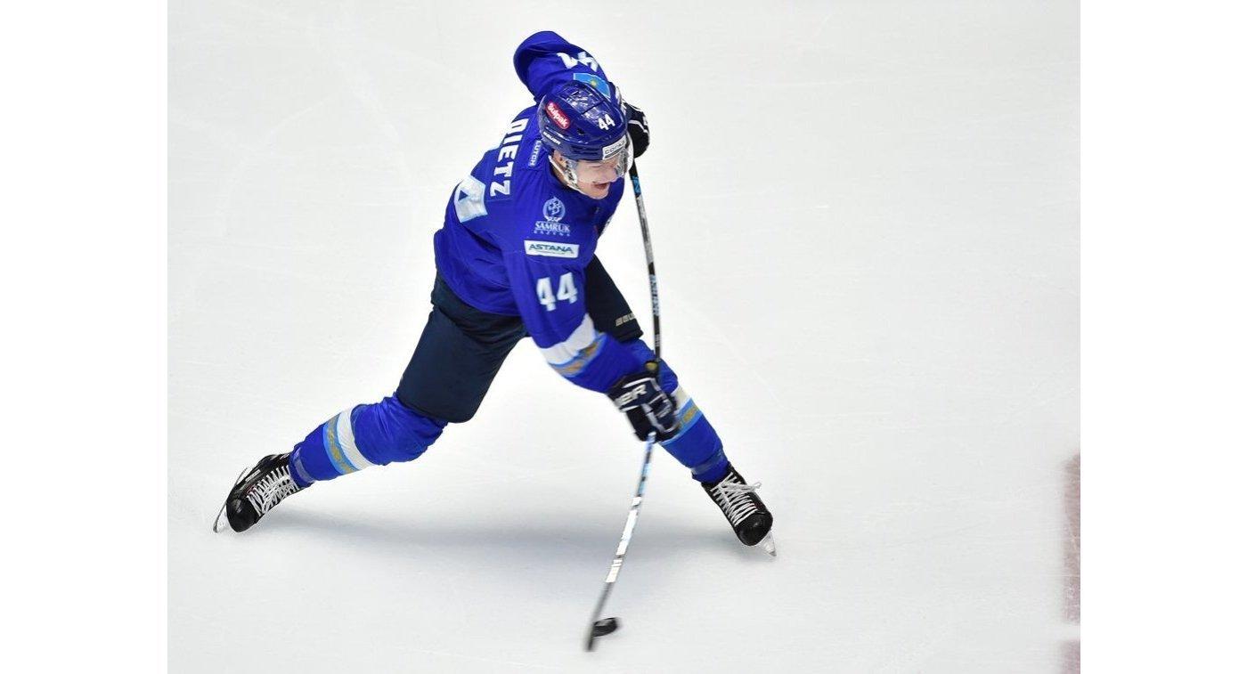 Игрок «Барыса» признан лучшим защитником ноября в КХЛ
