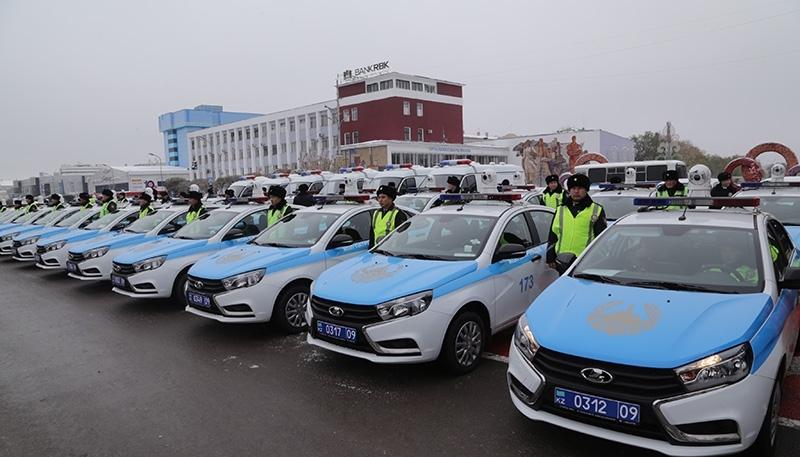 Қарағанды облысы полициясының автомобиль паркі 127 көлікпен толықты