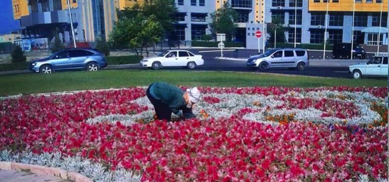 Сколько в Актау потратили на цветы к саммиту