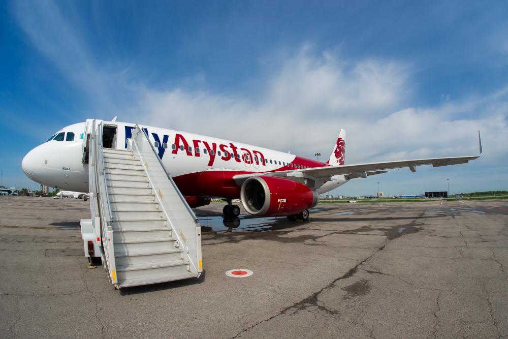Казахстанский лоукостер начнет летать в Москву с середины декабря 2019 года
