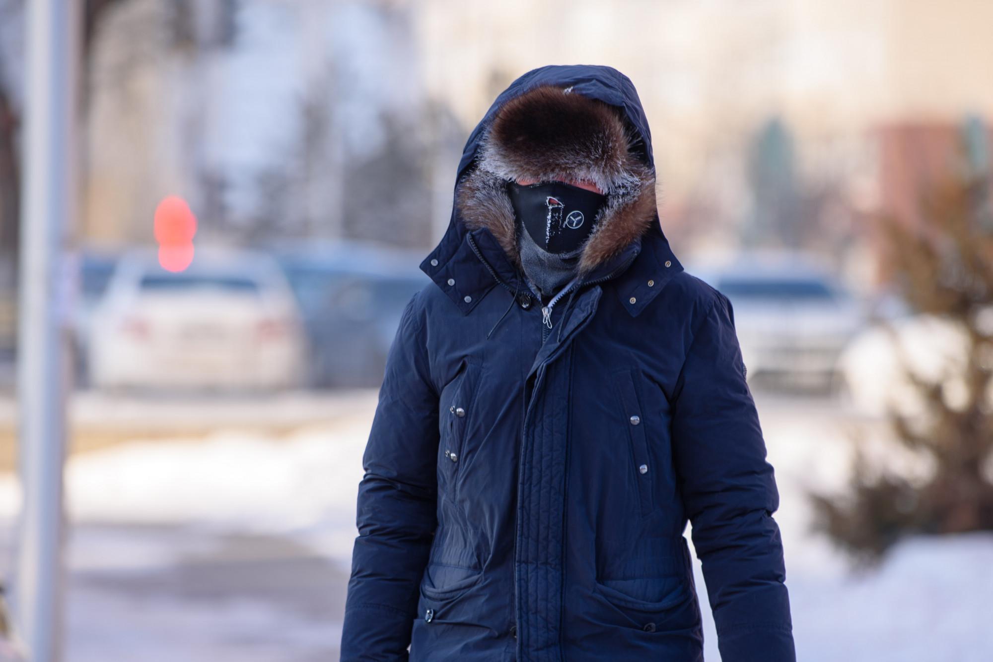 ДЧС рекомендует сократить рабочее время в связи с морозами