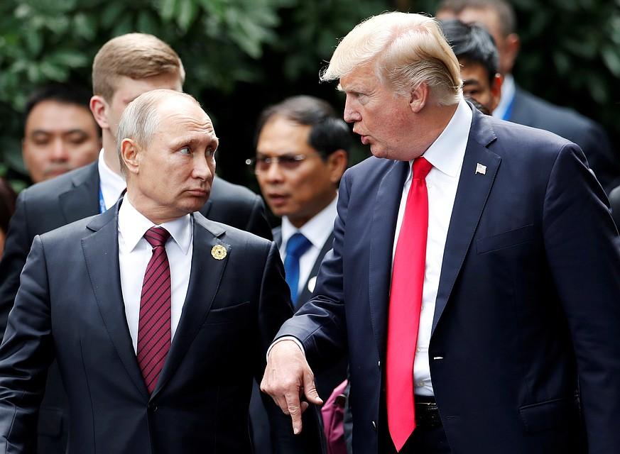 Дональд Трамп всерьез рассматривает возможность визита в Россию по приглашению Владимира Путина
