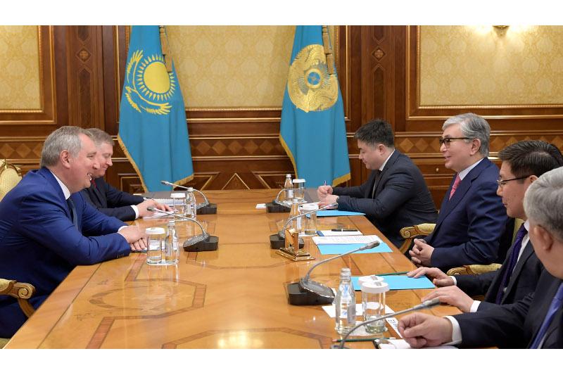 ҚР президенті «Роскосмос» басшысын қабылдады