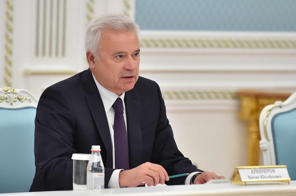 Президент «Лукойл» рассказал Касым-Жомарту Токаеву о перспективах реализации проектов «Женис» и «I-P-2»