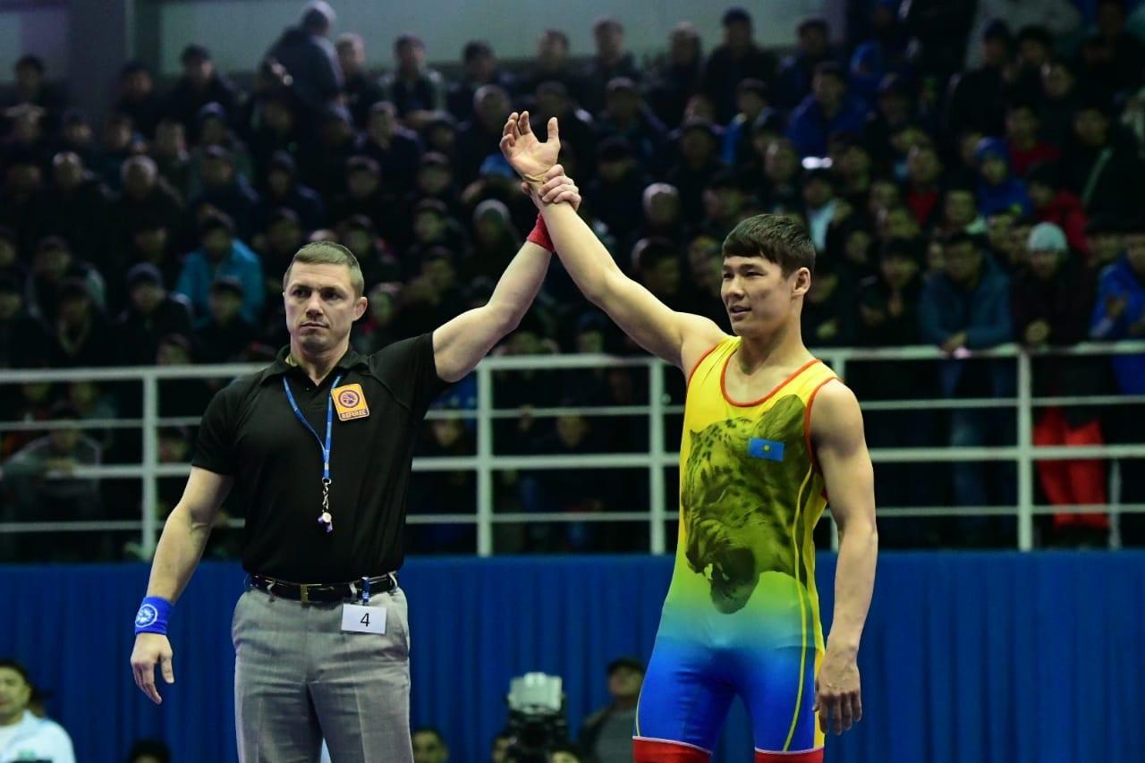 Мейіржан Шермаханбет Азия чемпионатының финалына шықты