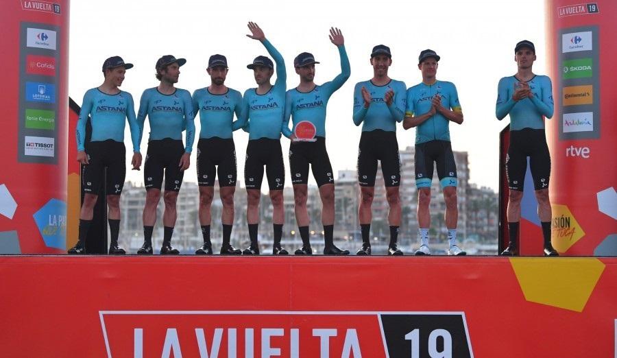 Вуэльта Испании: «Астана» стартует с победы