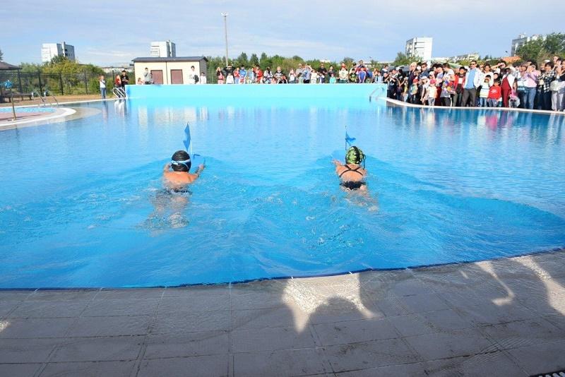 При поддержке ERG открыт плавательный бассейн в Экибастузе